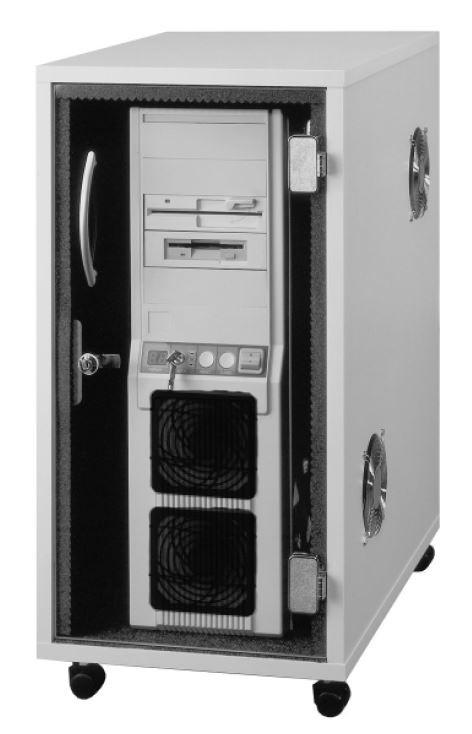 """CPU - Container QT Lärmschutz """"QUIET"""" 260 x 570 x 685"""
