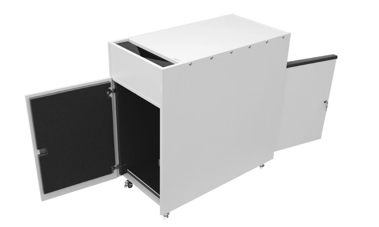"""CPU-Container Lärmschutz """"Referenzklasse-PLUS"""" BTH innen 400 x 880 x 600mm"""