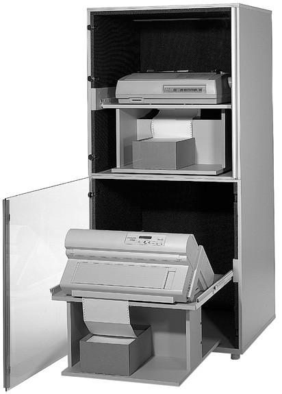 Doppeldruckerschrank DDS 2000 - 300 Staub
