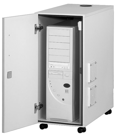 CPU - Container Dusty 3 Ventilatoren 300 x 700 x 520