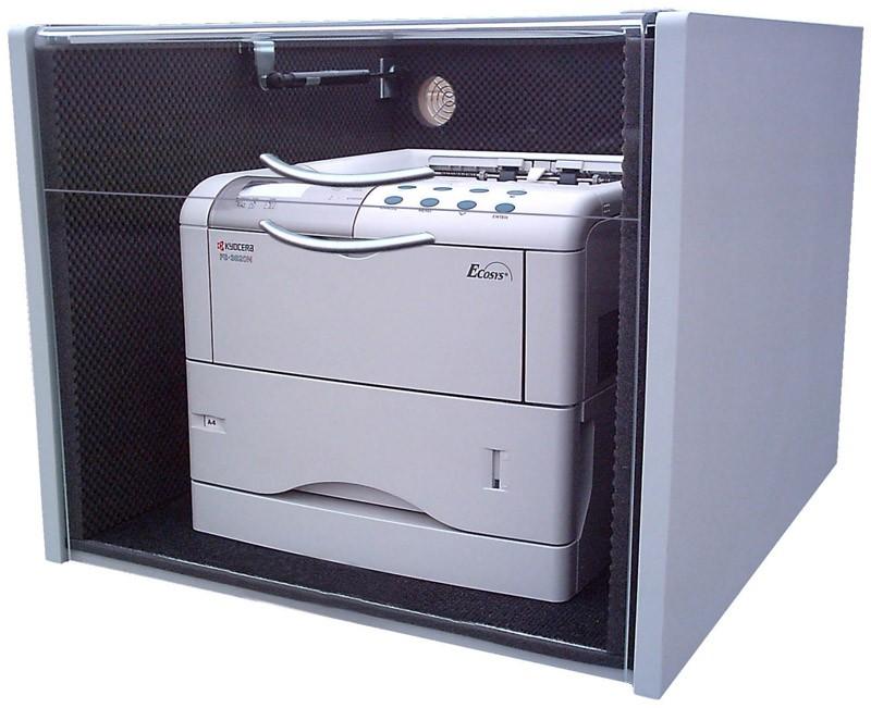 Lärmschutzgehäuse (Laser-Cabinet) 520 x 600 x 600 - Geteilter Deckel