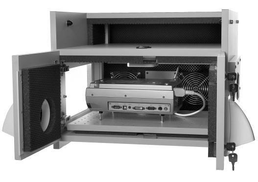 Lärmschutzgehäuse für Beamer 600 x 600 x 300