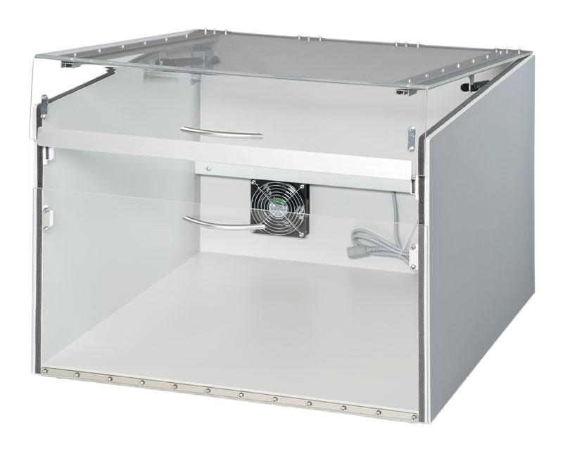 Staubschutzgehäuse für Drucker 550 x 600 x 400 (Geteilter Deckel)