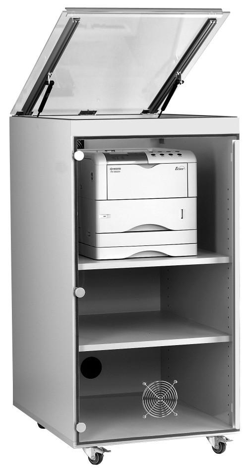 Toner-Staubschutzschrank für Laserdrucker 530mm breit