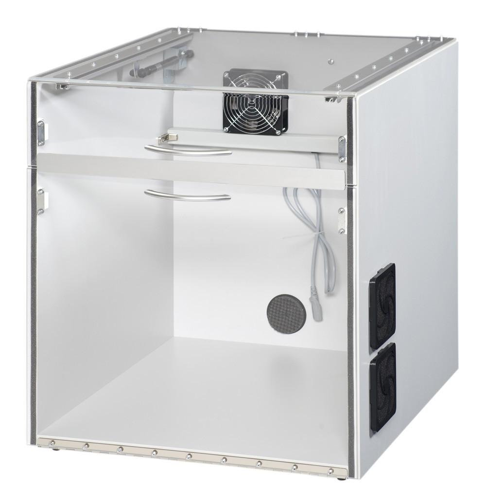 Toner-Staubschutzgehäuse für Laserdrucker 550 x 600 x 400 mit geteiltem Deckel
