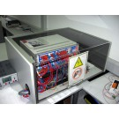 Schallschutzhaube für ein Prüfgerät  B x T x H 590 x 650 x 200 mm